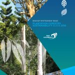 Plantation forestry sustainability guide cover.